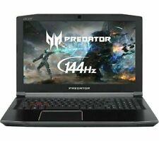 "Acer Predator Helios 15.6"" Intel i5-8300H 8 Go 1 To HDD 128 Go SSD GTX1050Ti Windows 10"