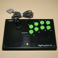 Hori Fighting Stick SS Sega Saturn (metal back plate) HSS-07 | Made in Japan
