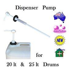 Plastic Dispenser Push Pump for 20 lt & 25 Liter Drum Liquid Soap Cream Lotion