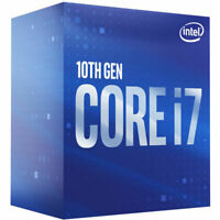 Intel Core i7-10700 Desktop Processor - 8 cores and 16 threads - Up to 4.80 GHz