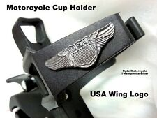 U.S.A. Wing Logo Harley Victory Cruiser Motorcycle Cup Water Bottle Drink Holder