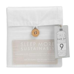 Bedding recycled sustainable eco friendly sheets pillowcases