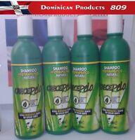 CRECE PELO BOE SHAMPOO 4 PACK 13.2 OZ HAIR GROWTH WHOLESALE COMBO BRASIL JAPAN