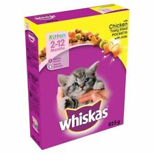 Whiskas Kitten 2-12 Months Dry with Chicken 825g