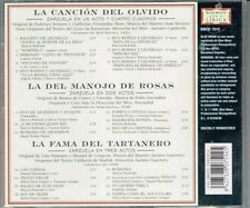 La Cancion Del Olvido La Del Manojo de Rosas La Fama Del Tartanero  BRAND NEW CD