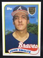 2020 Topps John Smoltz RC Rookie Retrospective Medallion Atlanta Braves