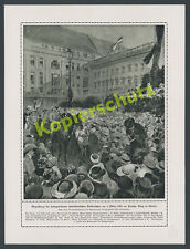 LETTOW-VORBECK Kurt Wahle Protection Force DOA Veterans Parade Homecoming Berlin 1919