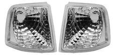 1993-1997 Ford Ranger Euro Diamond Clear Corner Park Lights Pair