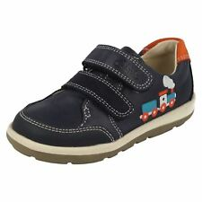 Infant Boys First Clarks Double Strap Shoes Softly Tom