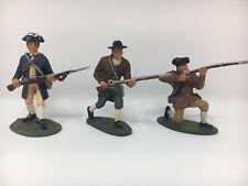 W BRITAINS 17447 - AMERICAN REVOLUTION MINUTEMEN SET 2