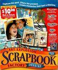 Nova Development Art Explosion Scrapbook Factory Deluxe 2.0 Pc New Sealed Boxed