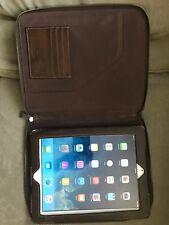 Leather Fossil iPad Case