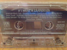 NOS If I Were A Carpenter Tribute Promo Advance Cassette Tape Album Sonic Youth
