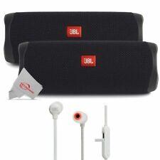 Dos Piezas JBL FLIP 5 Portátil Bluetooth Altavoz-Negro + Auriculares