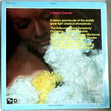 Carmen Dragon et al Stereo Showcase 1969 Capitol Records CLASSICAL Sealed LP