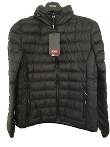 NWT TUMI womens Tumipax Jacket In Black Size M Msrp $225