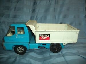 Vintage  Structo Turbine Thunderbolt Hydraulic Lift Dump Truck 1960's  NICE !!