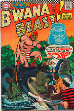 Showcase Comics #67 - 2nd App B'Wana Beast - 1967 (Grade 4.5)