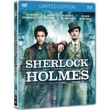 Sherlock Holmes Stickerbook Limited Edition ( Blu Ray + DVD) (steelbook)