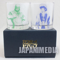 Cowboy Bebop Spike & Jet Black Rock Glass set 20th Anniversary JAPAN