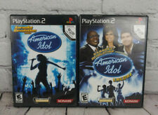 American Idol & Encore (Sony PlayStation 2 PS2) Video Game Lot Complete