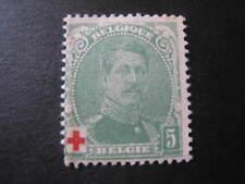 Belgique timbre ancien vendu à 20%.COB 129*