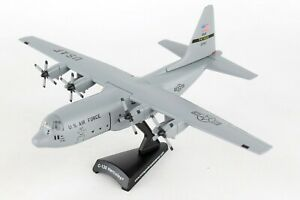 """Lockheed C-130 Hercules """"Spare 617"""" 1/200 Scale Diecast Metal Model by Postage"""