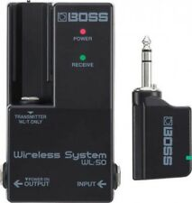 BOSS WL-50 Guitar Wireless System for Pedal Board Embedded Fast Ship Japan EMS