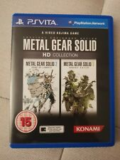 PS VITA - Metal Gear Solid HD Collection + Booklet - Free Post UK