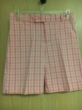 NWOT!! WOMENS SIZE 10 CHECKED PETITE SHORTS BY MOUNTAIN LAKE