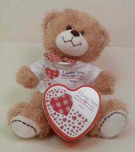 Personalised Valentines Day Teddy Bear & Personalised Scented Candle
