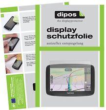 3x TomTom Via 62 Schutzfolie matt Displayschutzfolie Folie Display Schutz dipos