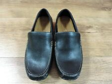 Womens Ladies Timberland Black Leather Driving  Shoes  -  UK 4   EU 37