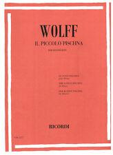RICORDI Pischna / Wolff - IL PICCOLO PISCHNA