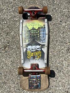 🔥Vintage Skateboard Dogtown Eric Dressen POWELL PERALTA BONES FREESTYLE WHEELS