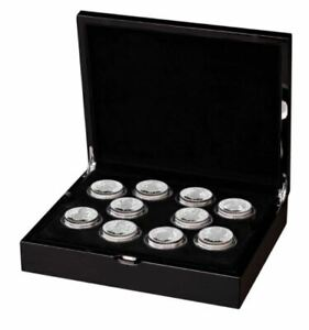 2021 UK The Queens Beasts Two-Ounce Silver Proof Ten-Coin Set