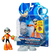 Mega Man Fully Charged Deluxe Mega Man with Drill Power 6in Action Figure NIP