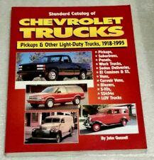 Standard Catalog of Chevrolet Trucks 1918-1995 Pickups,Other Light Trucks