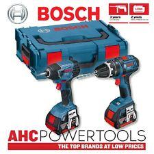 Bosch GSB18V-LI + GDR18V-LI 18V Li-ion Dynamic Combi & Impact Driver Twinpack