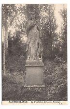 sainte solange , la fontaine de sainte solange -