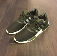 Adidas NMD_R1 Boost shoes sneakers new CQ2414 Cargo Green Lime men's Running