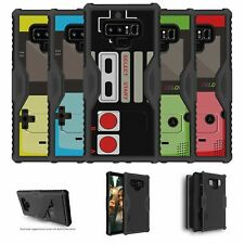 For Samsung Galaxy Note 9 | Note 9 N960 Kickstand Dual Layer Case - Retro Games
