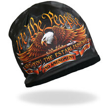 HD Sublimation We the People Eagle 2nd Amendment Biker Stocking Cap Beanie Knit