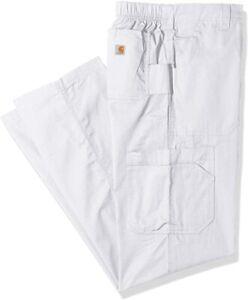 Carhartt Men's Multi-Cargo Pant, White, Large Short