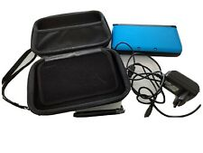 NINTENDO 3DS XL BLU COME NUOVO + CARICABATTERIE + CUSTODIA CON ACCESSORI