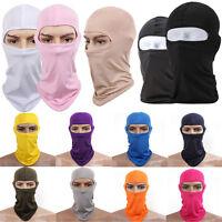 Unisex Sport Motorcycle Cycling Ski Full Cover Neck Face Mask Balaclava Soft UK