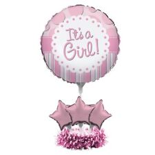 It's a Girl Baby Shower Balloon Centerpiece Kit
