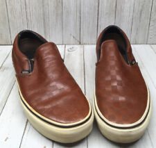 Leather Vans Shoe Men 8.5 / 10 Women