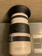 Very Nice CANON Zoom Lens CL 8-120mm f/1.4-2.1 15X Macro Video Lens