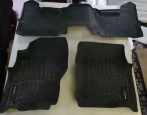 USED 2008* NISSAN PATHFINDER WEATHERTECH FLOOR LINERS FULL SET with CARGO MAT!
